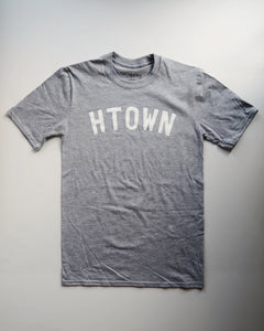 The HTOWN Tee (Unisex Grey/White)