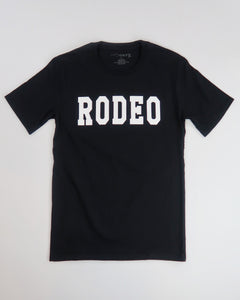The Rodeo Tee (Black/White)