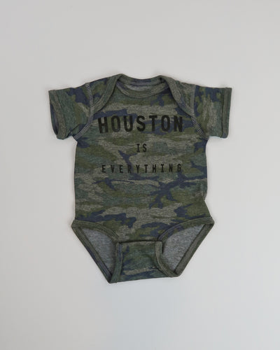 The Houston is Everything Onesie - CAMO