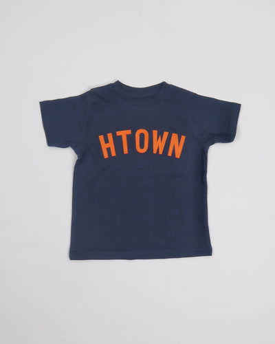 Kids HTOWN Tee (Navy/Orange)