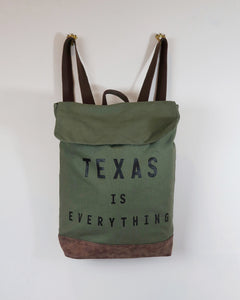 The Texas is Everything Rucksack