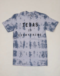 The Texas is Everything Tee - Bluebonnet Tie-Dye