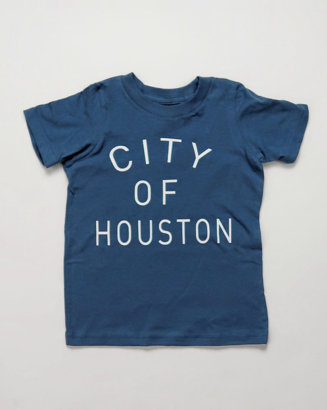 City of Houston Toddler Tee (Houston Flag Blue/White)