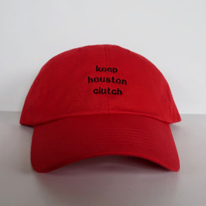 Limited Edition Keep Houston Clutch Hat (Red/Black)