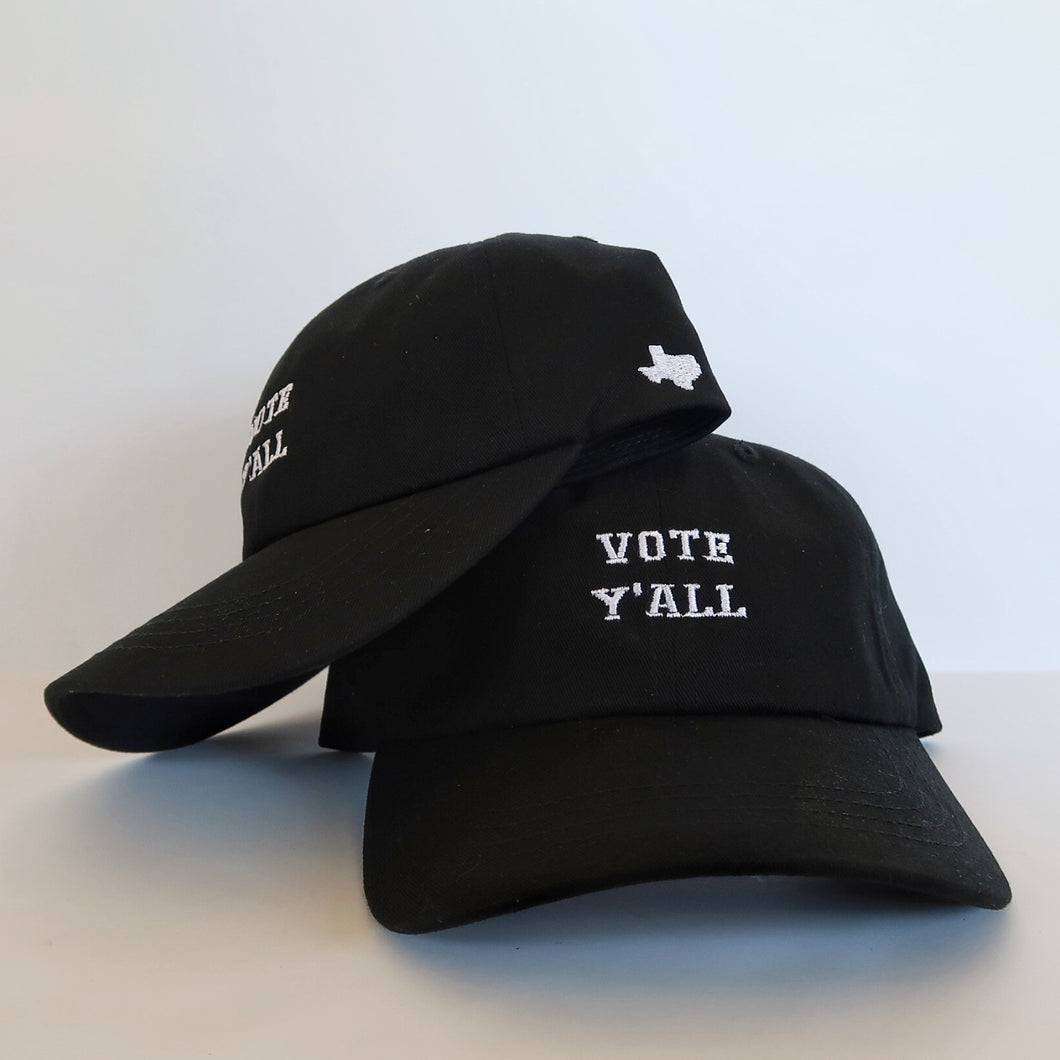 The Texas VOTE Y'ALL Hat