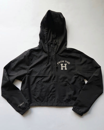 From the H Women's Cropped Windbreaker