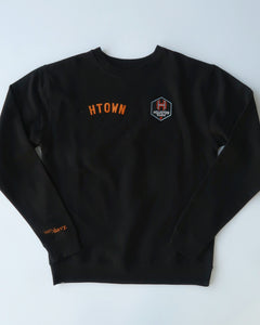 The Sam & Davy & Houston Dash Crewneck (Unisex Black)