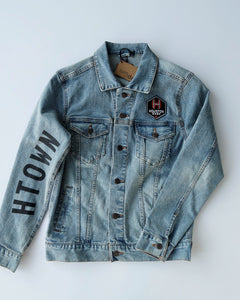 The Sam & Davy ×  Houston Dash HTOWN Denim Jacket (Unisex)