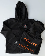 Load image into Gallery viewer, The Sam & Davy × Houston Dash Houston is Everything Windbreaker (Unisex Black)