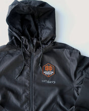 Load image into Gallery viewer, The Sam & Davy × Houston Dynamo Houston is Everything Windbreaker (Unisex Black)
