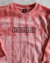 Load image into Gallery viewer, The Houston Stamp Toddler Crewneck (Pink Tie Dye)