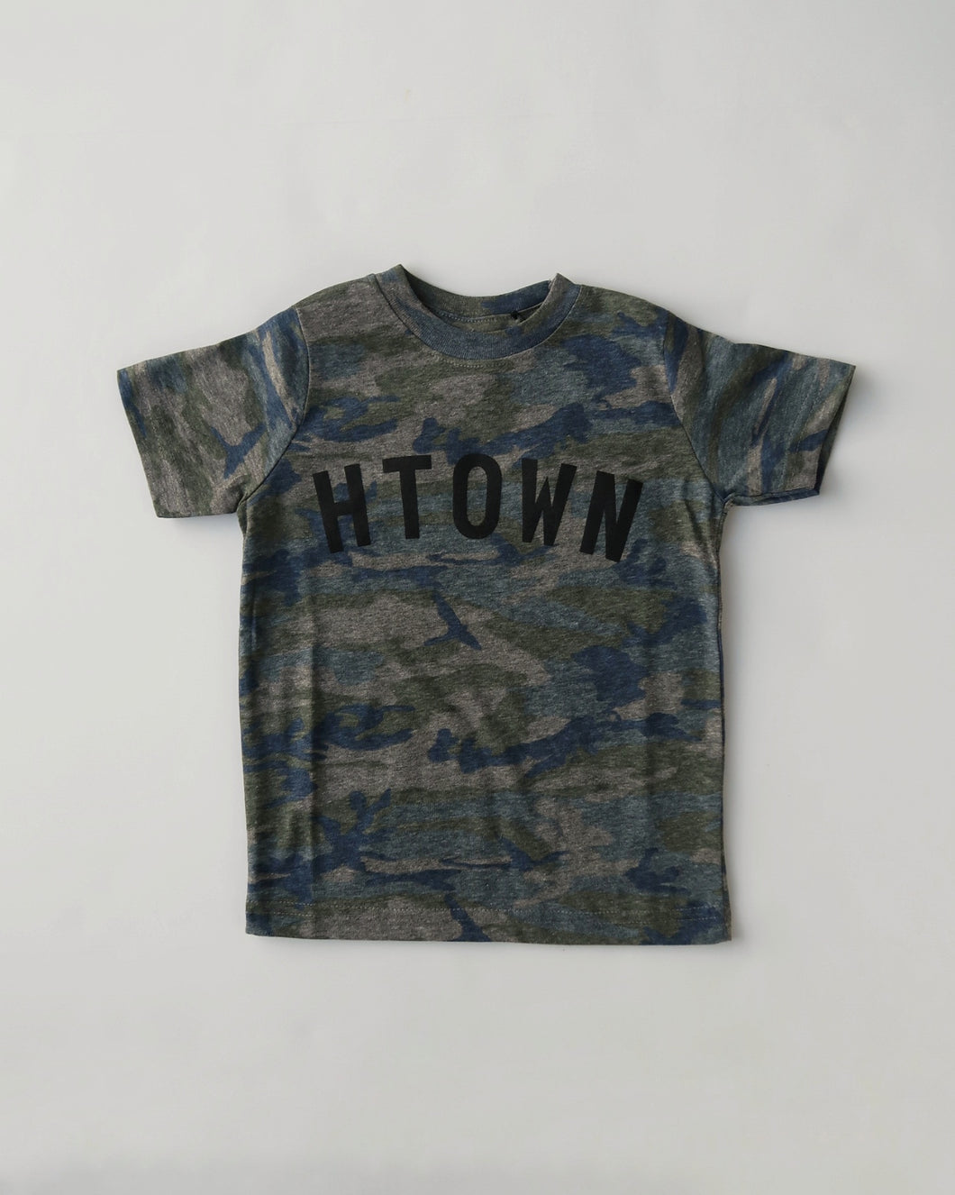 Toddler HTOWN Tee (Camo/Black)