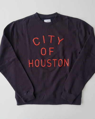 The City of Houston Crewneck (Unisex Navy/Red)