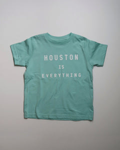 The Houston is Everything Toddler Tee (Mint/White)