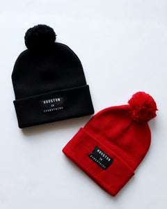Houston is Everything Pom Pom Beanie (2 Color Options)