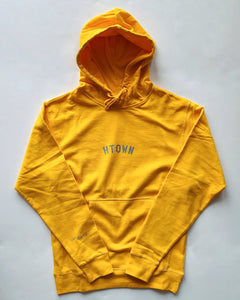 Mini HTOWN Hoodie (Yellow/Grey)