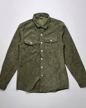 Load image into Gallery viewer, Houston is Everything Men's Corduroy Shirt (Moss Green)