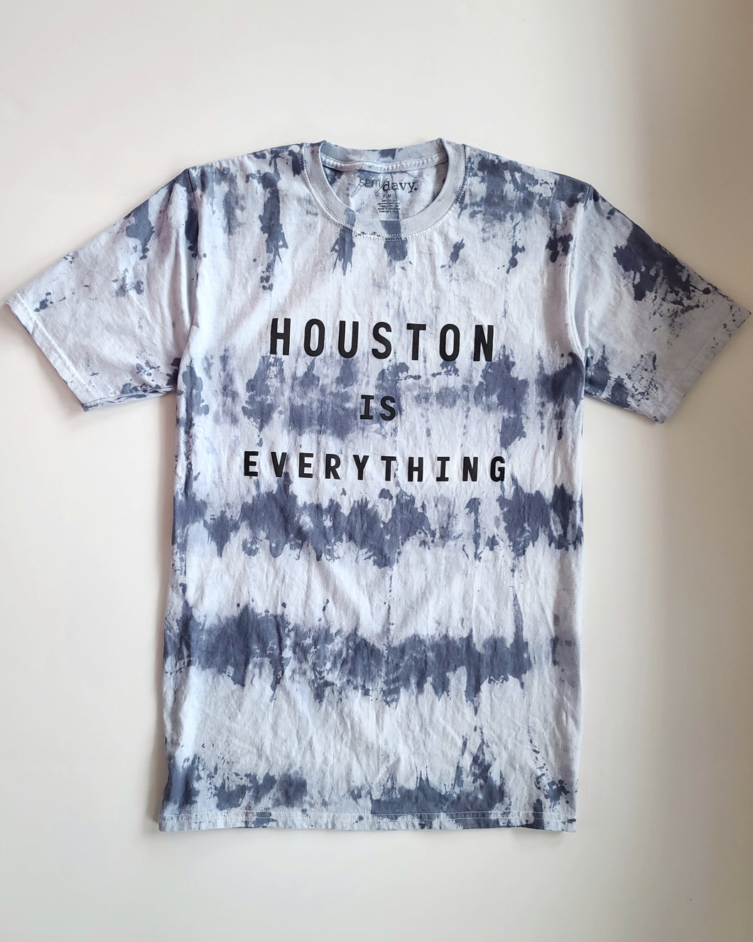 The Houston is Everything Tee - Bluebonnet Tie-Dye