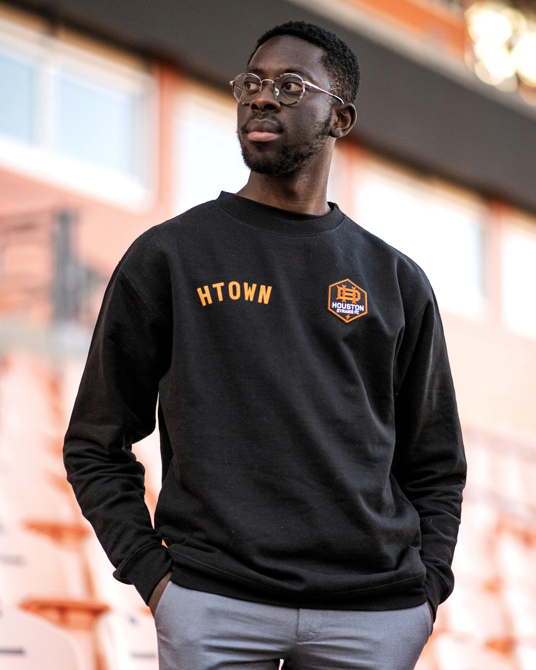 The Sam & Davy & Houston Dynamo Crewneck (Unisex Black)