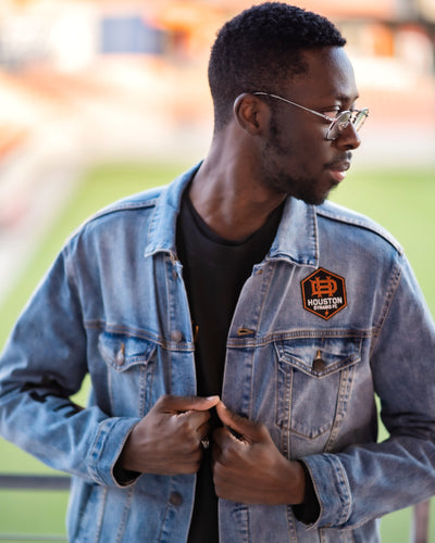 The Sam & Davy × Houston Dynamo HTOWN Denim Jacket (Unisex)
