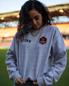 The Sam & Davy & Houston Dynamo Crewneck (Unisex Grey)