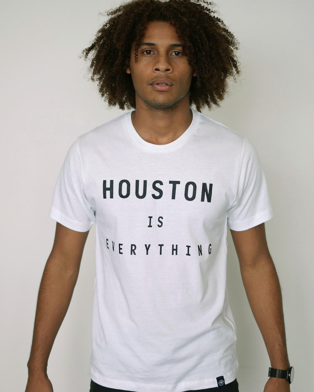 The Houston is Everything Tee (Unisex White/Black)