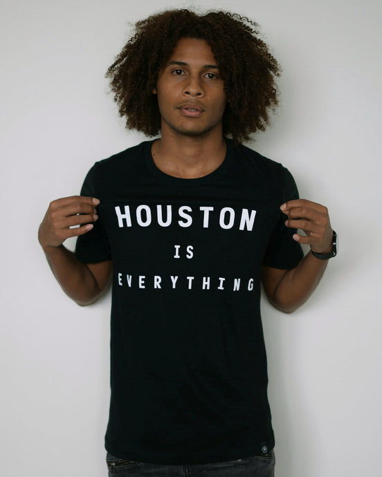 The Houston is Everything Tee (Unisex Black/White)