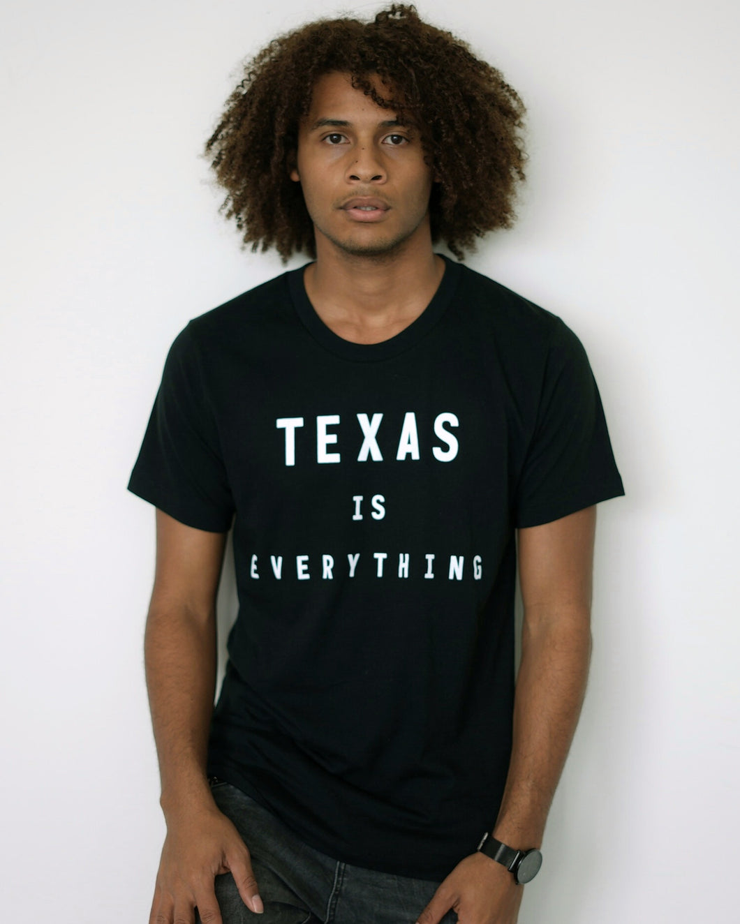 The Texas is Everything Tee (Unisex Black/White)