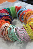 Bangle Bunches with Thread and Velvet by Leshya (15 Colours)