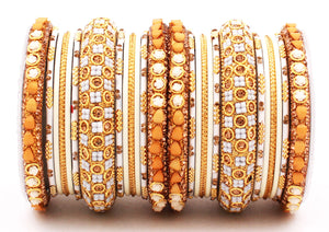 Traditional Lac Bangle set for Women by Leshya