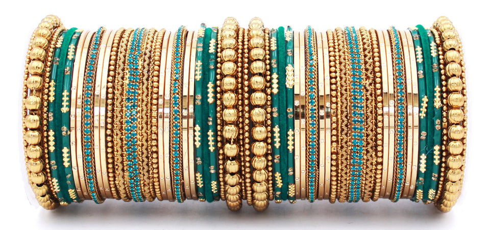 Traditional Chura Bangle set for Women by Leshya