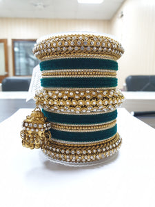 Traditional Jhumki Bangle Set