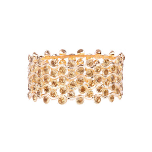 Golden Stone And Gold Plated Bracelet For Women