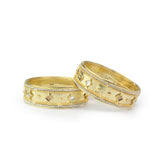 Beautiful Golden Bracelet Pair With Intricate Stone Work