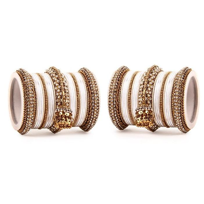Set of 2 Traditional Jhumki Bangle Set
