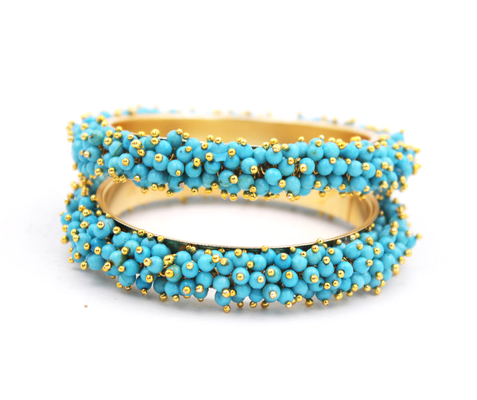 Set-of-2 Bridal Ghungroo Bangles for all occasions by Leshya Bracelet