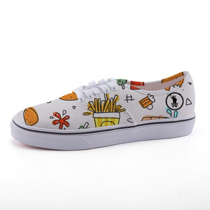 French Fries Shoes
