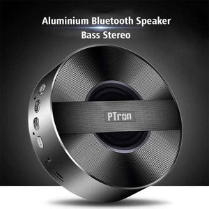 PTron Bluetooth Speaker Musicbot Portable Wireless Speaker Support TF, USB For All Smartphones (Black)