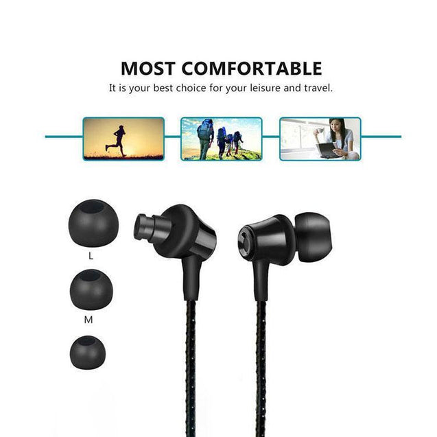 PTron HBE9 Headphone Stereo In Ear Earphone With 3.5mm Jack For All Motorola Smartphones (Black)