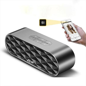 PTron Mojo Mini Bluetooth Speaker With Dual Speaker Support TF, USB, FM Radio For All Smartphones (Grey)
