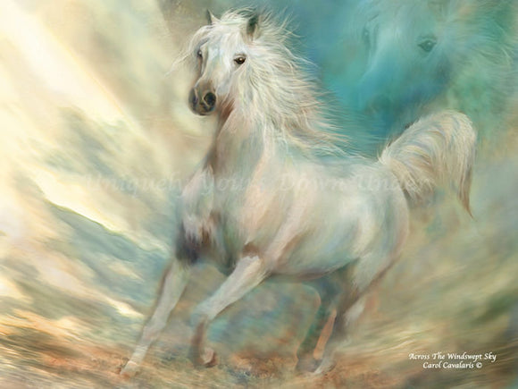 Across The Wind Swept Sky Diamond Painting Kit - Carol Cavalaris