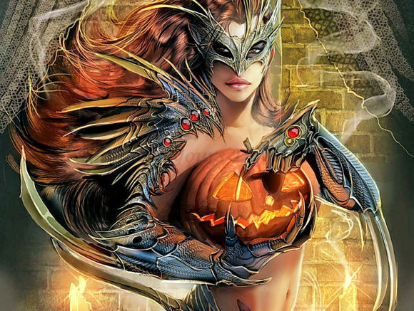 Halloween 02 Diamond Painting Kit