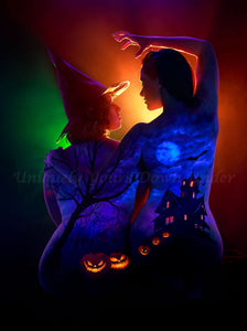 Haunted October Diamond Painting Kit - John Poppleton