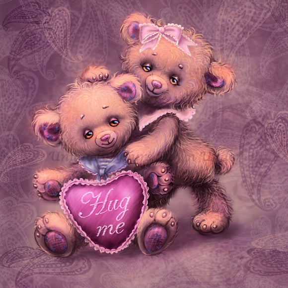 Teddy 04 Diamond Painting Kit