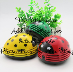 Ladybug Mini Vacuum Canvas Add-on