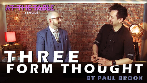 Three Form Thought by Paul Brook ATT Single video DOWNLOAD