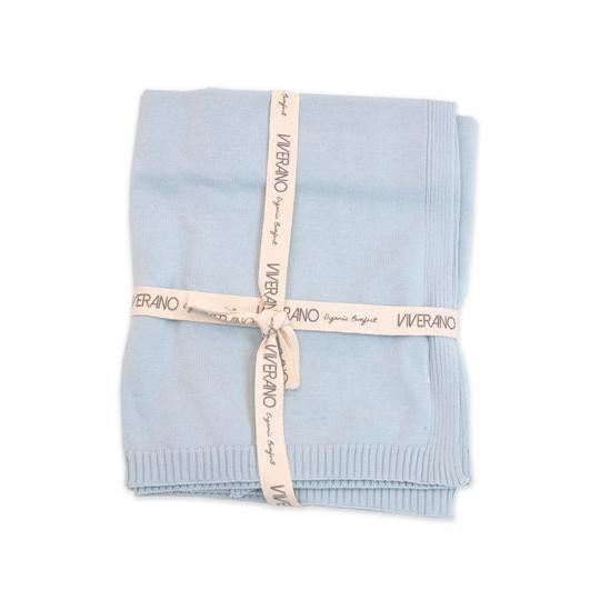 Organic Cotton Knit Blanket for Babies