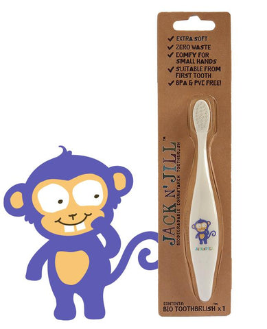 Jack N' Jill Monkey Bio Toothbrush