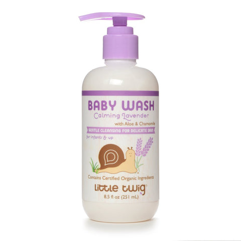 Calming Lavender Baby Wash 2-in-1