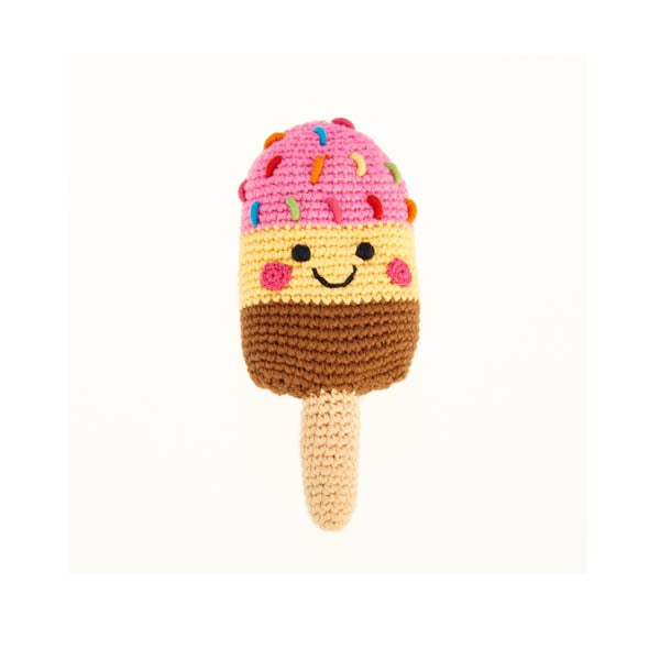 Friendly Ice Lollie rattle